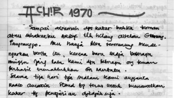 Sepetik Memory : Wednesday : 30. September 1970