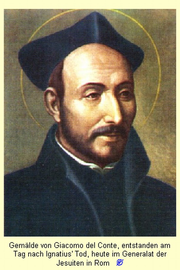 Santo Ignatius de Loyola (1491 - 1556) : Sunday : 29. April 2007