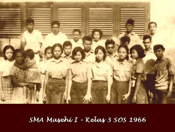 Kelas 3 SOS 1966 : Saturday : 29. January 1966