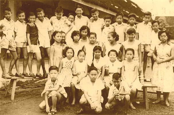 Sekolah Rakjat Masehi Sidodadi : Saturday : 11. April 1959